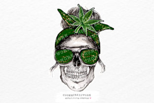 Print on Demand: Mom Life Smoke Weed Sublimation Graphic Crafts By Chonnieartwork