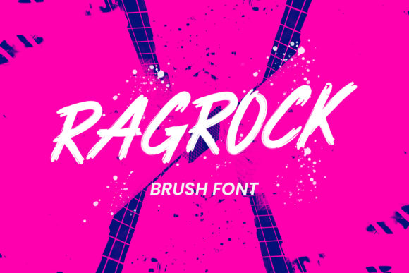 Print on Demand: Ragrock Display Font By Maulana Creative