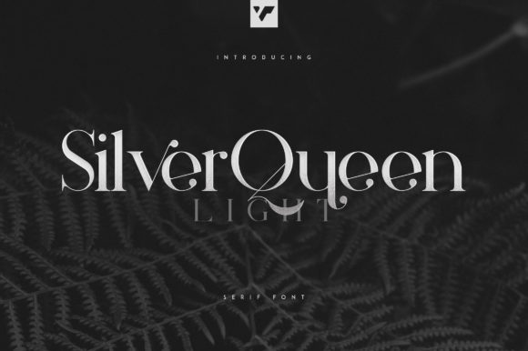 Print on Demand: Silver Queen Serif Font By vladfedotovv