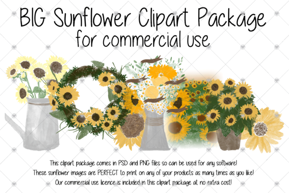 Print on Demand: Sunflower, Rustic, Flower, Sunflowers, Graphic Illustrations By essexprintingservice