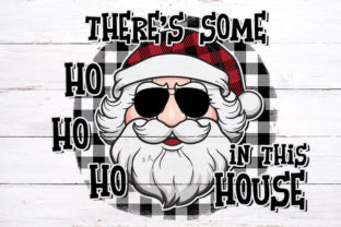 There's Some Ho's Christmas Sublimation Graphic Print Templates By riryndesign