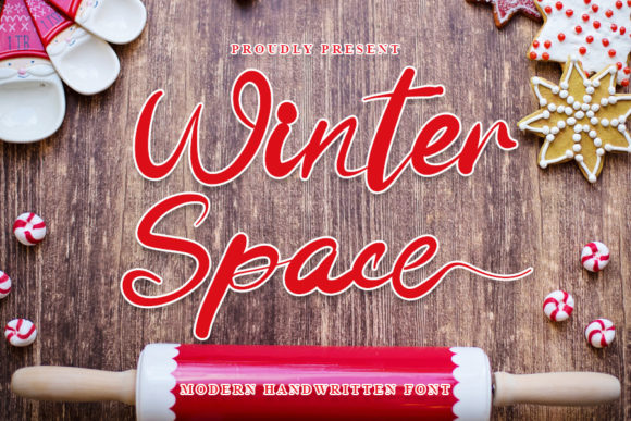 Print on Demand: Winter Space Script & Handwritten Font By NYA Letter