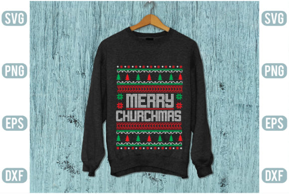 Merry Churchmas Graphic Graphic Templates By Printable Store