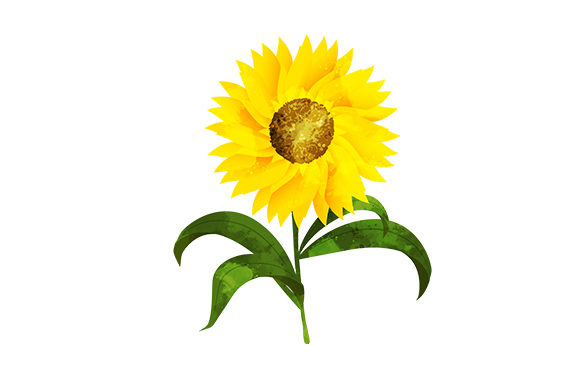 Sunflower Nature & Outdoors Craft Cut File By Creative Fabrica Crafts