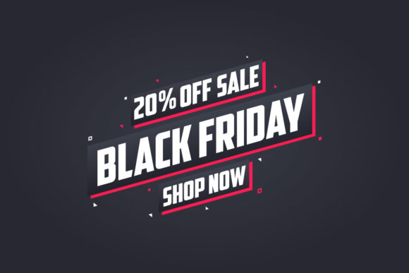 20% off Black Friday Sale Graphic Illustrations By Netart