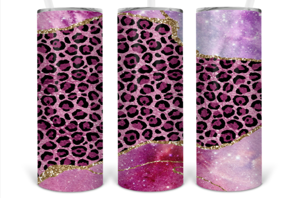 Print on Demand: 20oz Skinny Tumbler Sublimation Designs Graphic Print Templates By Susan Alajoki