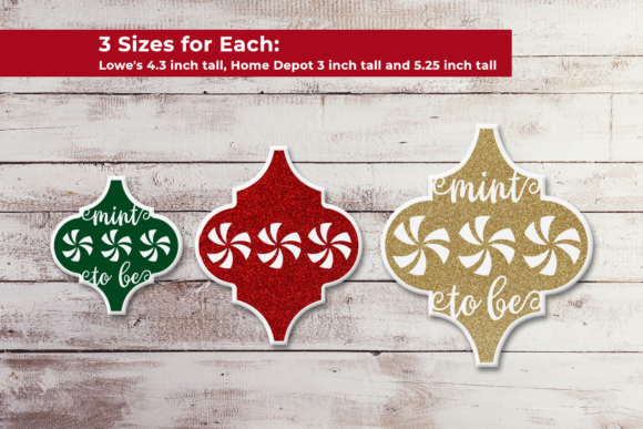 Arabesque Tile Ornament Peppermint SVG Graphic Crafts By RisaRocksIt