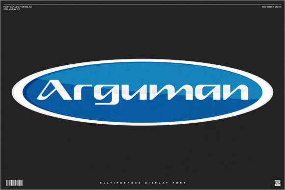 Print on Demand: Arguman Display Font By zealab fonts division
