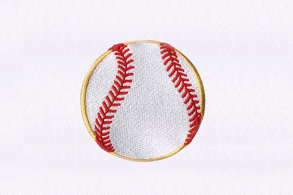 Baseball Sports Embroidery Design By DigitEMB