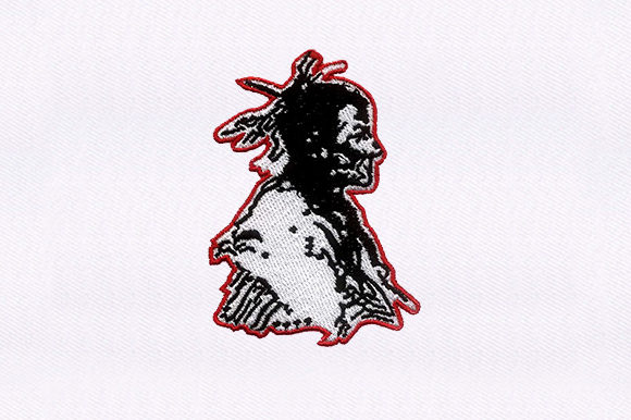 Chief Native Africa Embroidery Design By DigitEMB