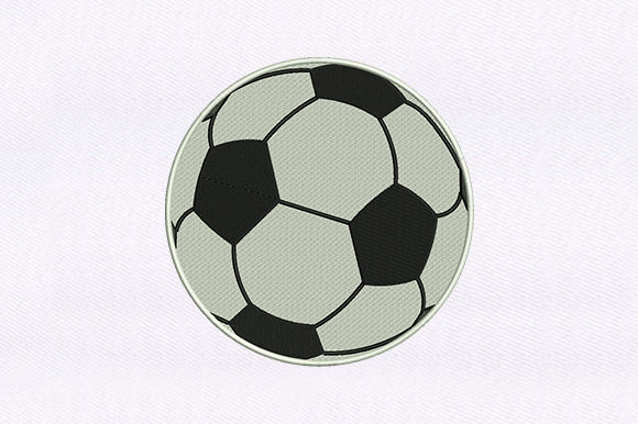 Football Sports Embroidery Design By DigitEMB