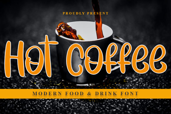 Print on Demand: Hot Coffee Script & Handwritten Font By NYA Letter