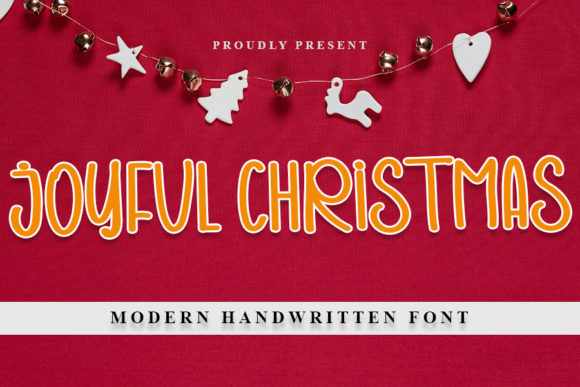 Print on Demand: Joyful Christmas Script & Handwritten Font By NYA Letter