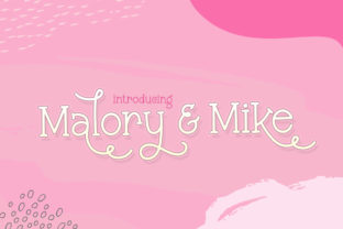 Print on Demand: Malory and Mike Display Font By Salt & Pepper Designs