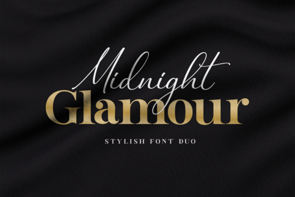 Print on Demand: Midnight Glamour Serif Font By Typestory