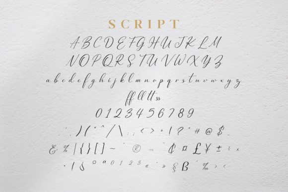 Midnight Glamour Font Font