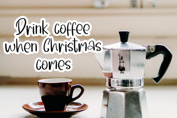 Morning Santa Font Download