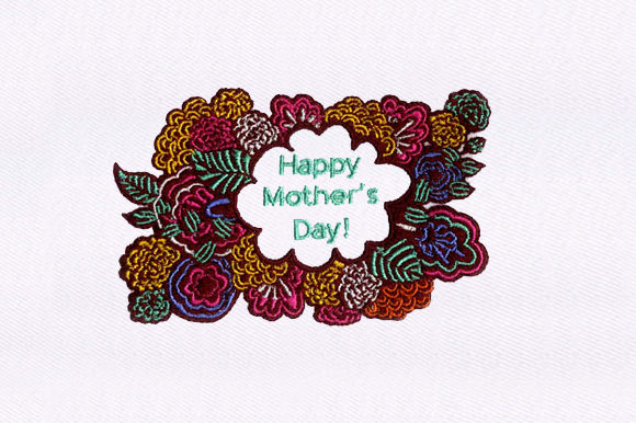 Mother's Day Mother's Day Embroidery Design By DigitEMB