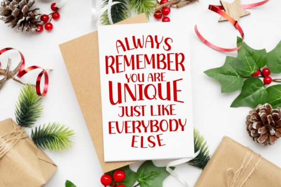New Year Holiday Font Download