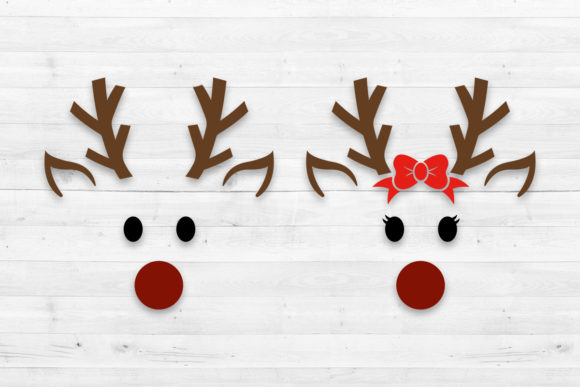 Reindeer  Graphic Crafts By LightBoxGoodMan