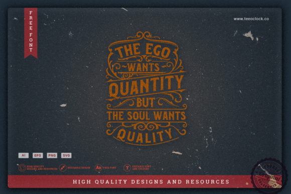 The Ego Wants Quantity Graphic Crafts By teeoclock.co
