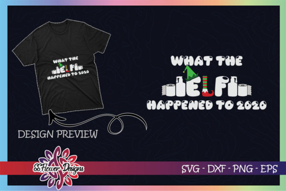 What the ELF Happened to 2020 Graphic Print Templates By ssflower