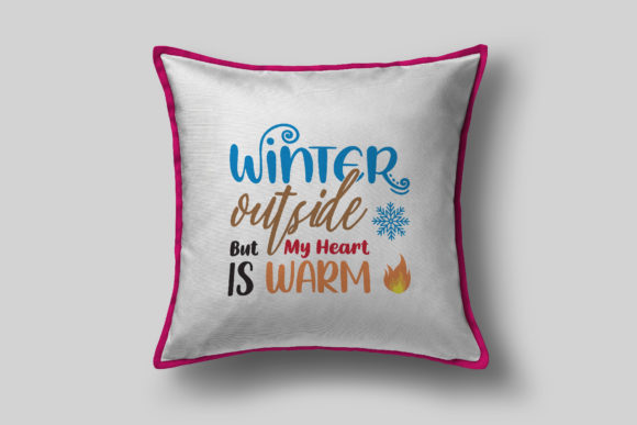 Winter Outside Graphic Crafts By assalwaassalwa