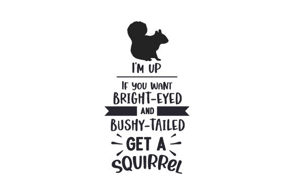 Squirrel Quote Quotes Craft Cut File By Creative Fabrica Crafts