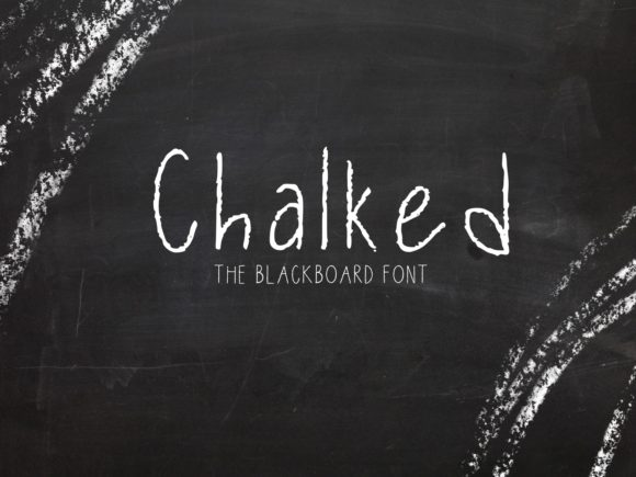 Print on Demand: Chalked Script & Handwritten Font By fonts.ness