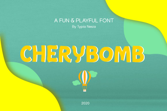 Print on Demand: Chery Bomb Display Font By Typia Nesia
