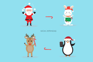 Christmas Character Illustration Graphic Illustrations By Extumus