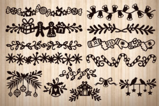 Print on Demand: Christmas Collention, Svg, Png, Dxf, Eps Graphic Crafts By LightBoxGoodMan