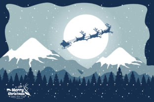 Print on Demand: Christmas Icy Snow Graphic Illustrations By edywiyonopp