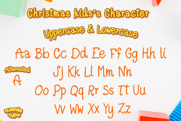Christmas Kids Font Download