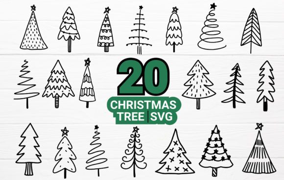 Christmas Tree SVG,DXF,PNG,EPS. Cut File Graphic Crafts By artdee2554