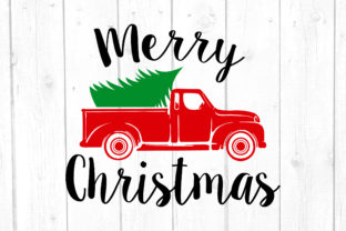 Christmas Truck Graphic Crafts By kaoticsvgdesigns
