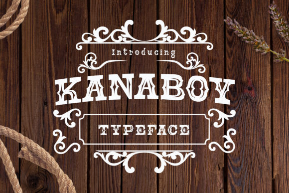 Print on Demand: Kanaboy Display Font By Alit Design