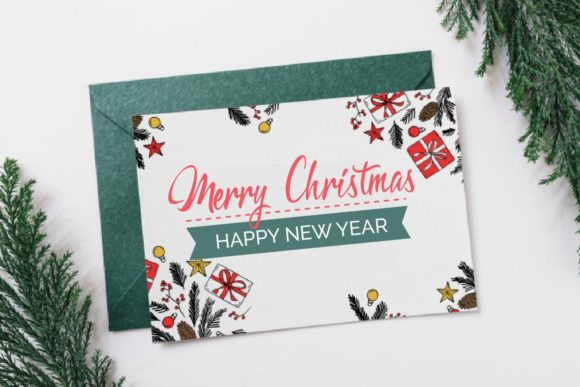 Magic of Christmas Font Design