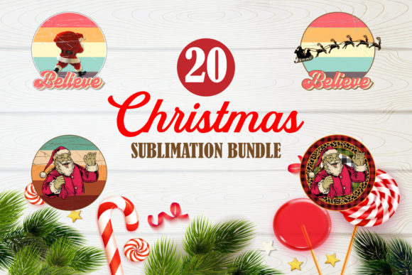 Print on Demand: Merry Christmas Bundle Sublimation 2 Graphic Crafts By TripleBcraft