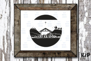 Print on Demand: Nativity Christmas Scene Graphic Crafts By KtwoP