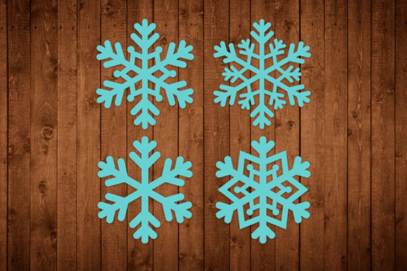Snowflakes Graphic Crafts By LightBoxGoodMan