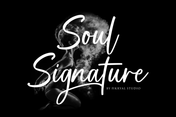 Print on Demand: Soul Signature Script & Handwritten Font By mfikryalif