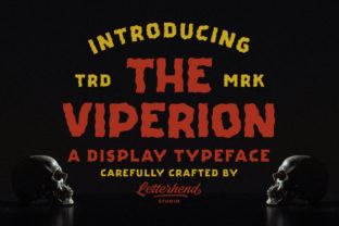 Print on Demand: The Viperion Display Fuente Por letterhend 1