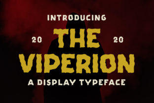 Print on Demand: The Viperion Display Fuente Por letterhend 8