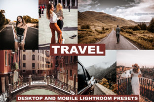 17 Lightroom Presets Pack Blogger Travel Graphic Actions & Presets By Visual Filters