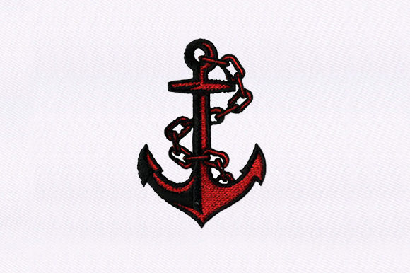 Anchor Beach & Nautical Embroidery Design By DigitEMB