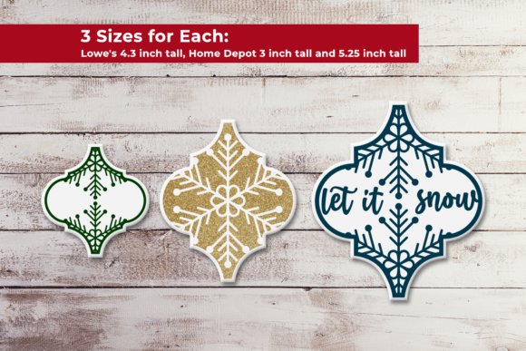 Arabesque Tile Ornament Snowflake SVG Graphic Crafts By RisaRocksIt