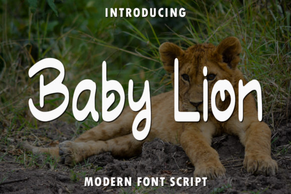 Print on Demand: Baby Lion Script & Handwritten Font By rangkaiaksara