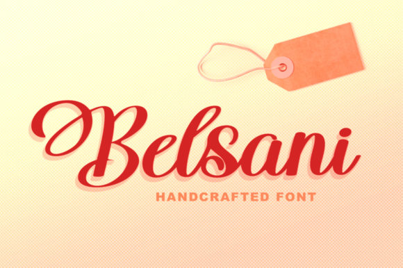 Print on Demand: Belsani Script & Handwritten Font By Solidtype
