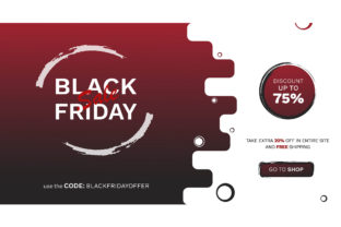 Black Friday Offer Template Grafik Grafik-Templates von Extumus